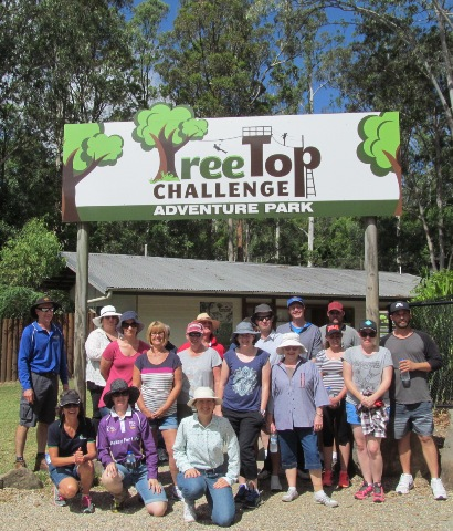 Staff at Tree Top Challenge